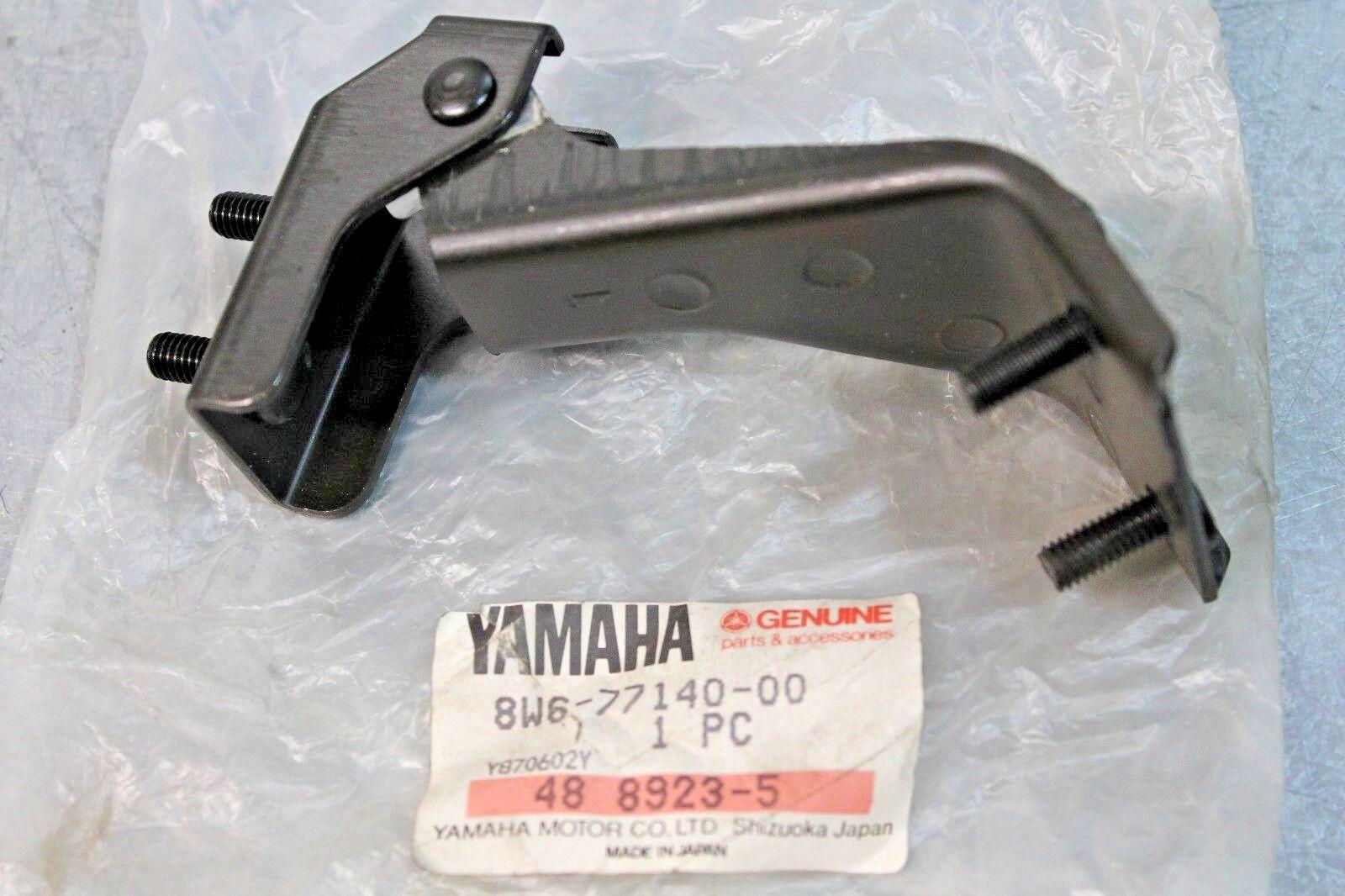 OEM 1984 - 1990 Yamaha SNOWMOBILE Shroud Windshield Hinge Assembly 8W6-77140-00