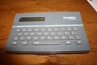 Franklin Computer Spelling Ace