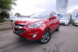 2015 Hyundai Tucson GLS, LEATHER/FABRIC SPORT SEATS, SUNROOF, HE