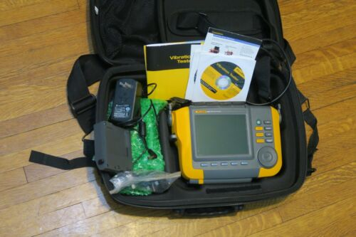 Fluke 810 Vibration Tester + Battery + Case Excellent Condition FREE SHIPPING