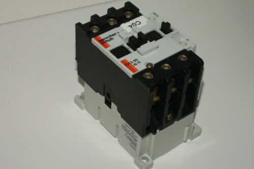 Sprecher + Schuh CA 3-60-N-11 Contactor Motor Starter With O/L Relay