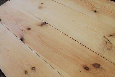 Reclaimed 10 Inch Wide Resawn Victorian Pine Flooring Cladding Board Warwick Rec