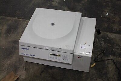 Excellent Eppendorf 5810 R Refrigerated Centrifuge With Rotor