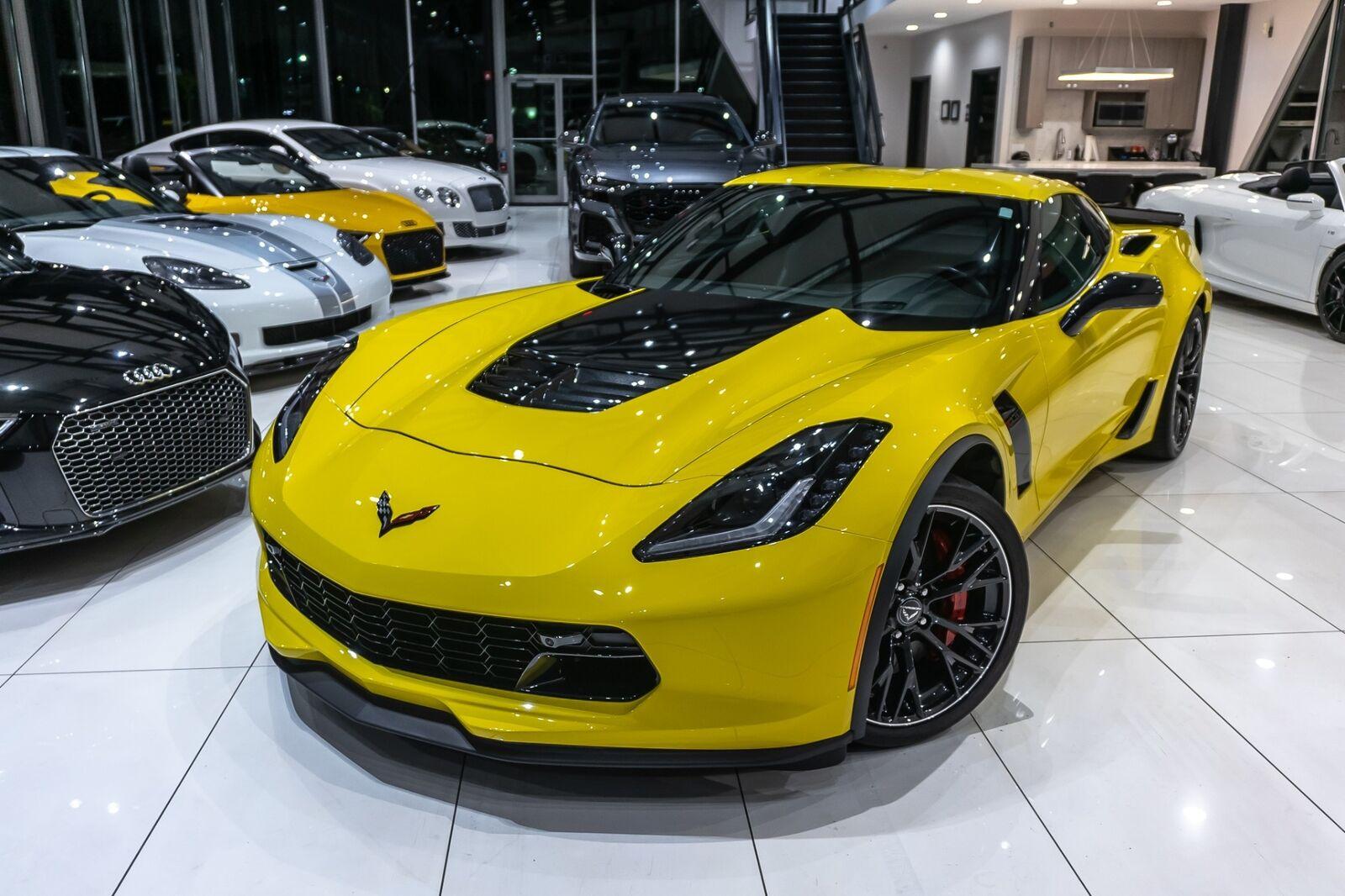 2016 Yellow Chevrolet Corvette Coupe 2LZ   C7 Corvette Photo 4