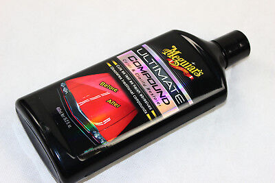 MEGUIARS ULTIMATE COMPOUND HOCHGLANZ POLITUR LACK REINIGER PFLEGE G17216EU 450ml
