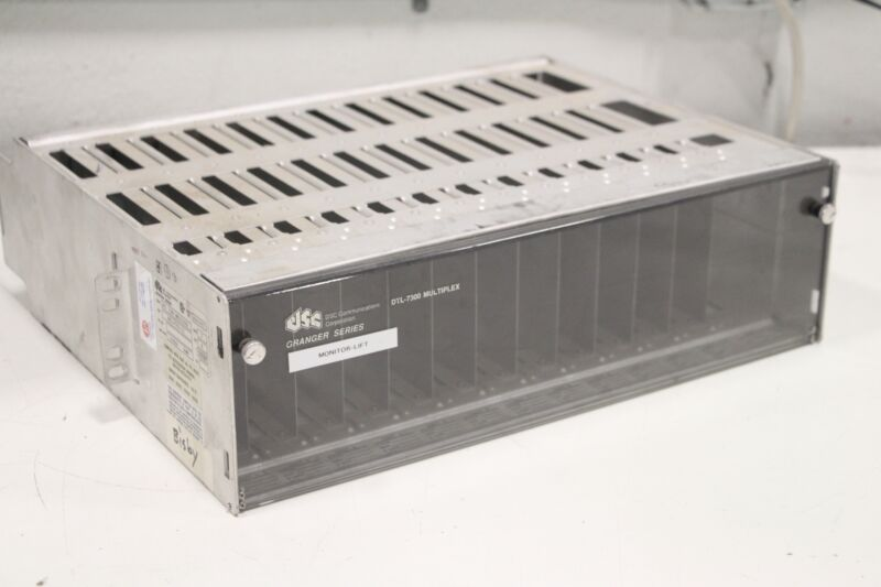 DSC Communications DTL-7300 Granger Series Multiplex EMPTY Chassis Housing
