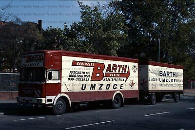 Foto camiones Mercedes ng entre con rammschutz Brummi Alemania 10x15cm//lf90