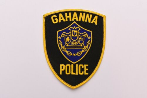 Gahanna Ohio Collectible Police Shoulder Patch