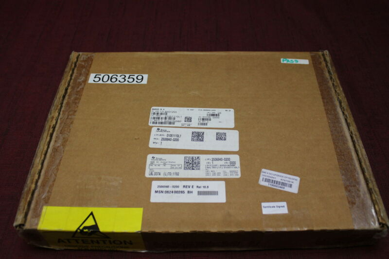 Texas Instruments 2504913-3 M25 Cinema Interface Processor Assembly Used