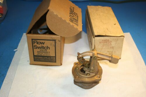 McDonnell & Miller Flow Switch Float Valve Assembly SA 21-6 for #21 Series