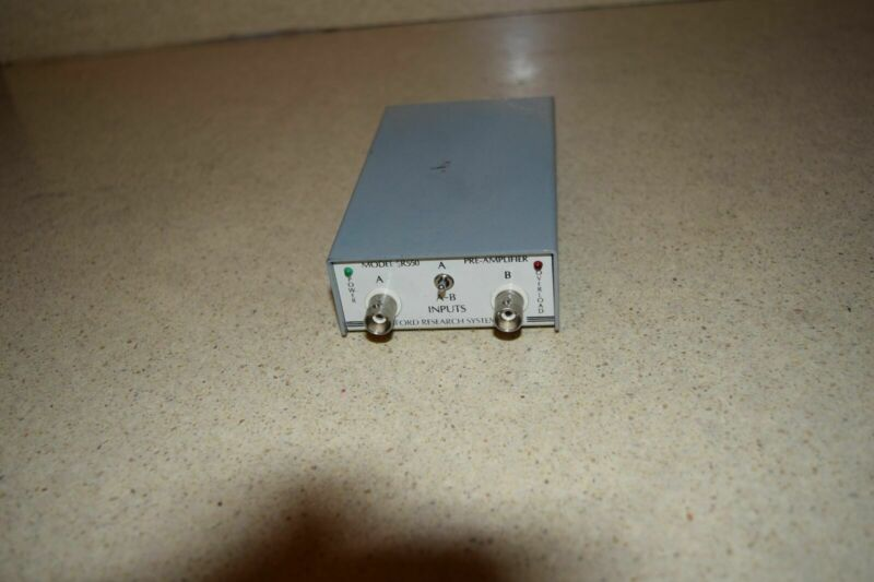 ^^ STANFORD RESEARCH SYSTEMS MODEL SR550 PRE-AMPLIFIER
