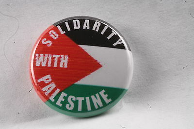 Palestine Palestinian Solidarity Gaza West Bank Flag Plo 1  Button Badge Pin