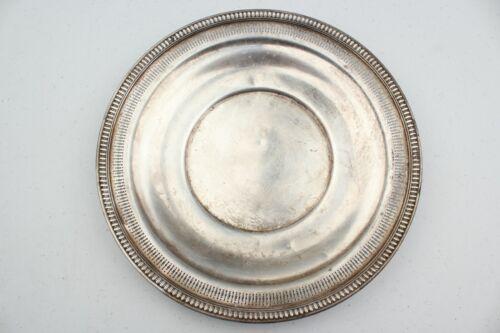 """Vintage Estate Wallace Sterling Silver Pierced Sandwich Plate 10.25"""""""