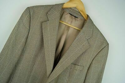 M110 BROOKS BROTHERS 346 BLAZER JACKET MADE IN CHILE 52% WOOL 48% SILK size 42