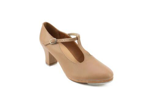 "Caramel 2"" Heel T-Strap Character Shoes - So Danca TA49"