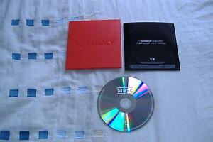 MUSE SUPREMACY U.K PROMO CD MINT CONDITION! VERY RARE!