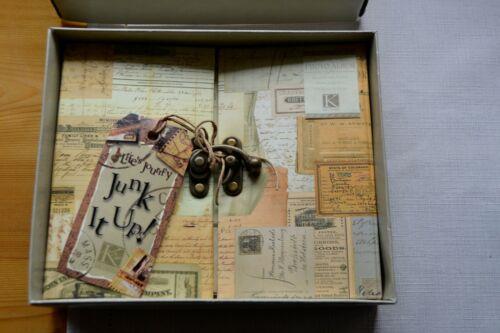 K&Company 6X6 Postbound Album Gatefold w/ Latch Closure Life