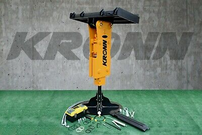 Kronn Hydraulic Hammer Breaker Fit To 8000 To 16000 Lbs Skid Steer Loader Rh-68