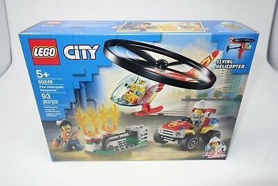 LEGO CITY Fire Helicopter Response 60248 (New Sealed Box)