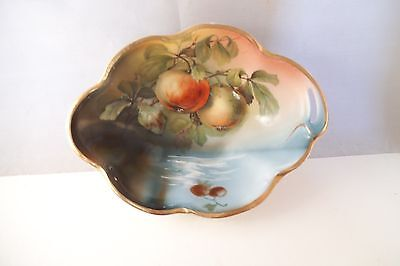 Vintage J & C Louise Bavaria Nappy Candy Nut Dish Bowl Fruit