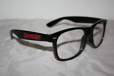 Jägermeister Nerdbrille Brille NEU OVP Kräuterlikör schwarz Design