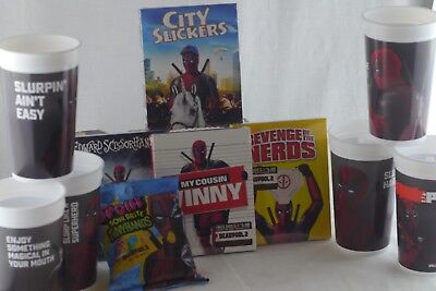 Deadpool Merchandise Lot Cups Movie Candy City Slickers My Cousin Vinny + More](Deadpool Merchandise)