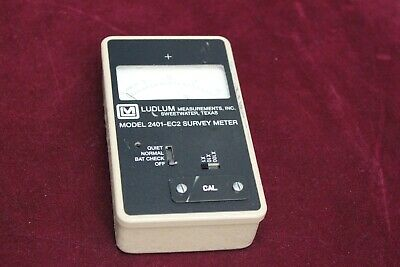 Ludlum Model 2401-ec2 Survey Meter