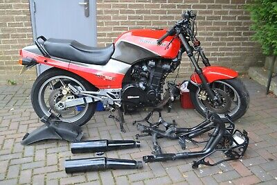 Kawasaki GPZ900R A1 1984 For Restoration with Std Exhausts Rear Guard Fairing