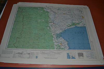 Vietnam War Maps AMS L509 Collection of 90 Maps Burma Thailand Laos China