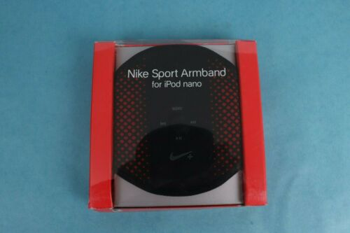 VINTAGE 2006 NIKE APPLE IPOD NANO BLACK SPORT ARMBAND *NEW IN BOX*