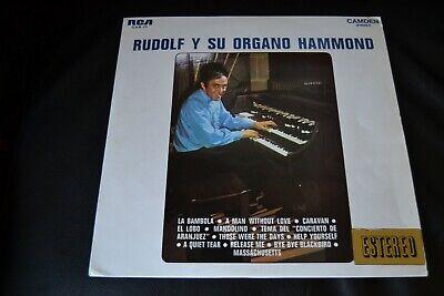 Usado, Rudolf Pache – Rudolf Y Su Organo Hammond Vinyl LP 1968 Spain CAS 111 segunda mano  Embacar hacia Mexico