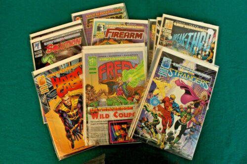 Ultraverse lot of 24 Comics Malibu Barry Smith Rune