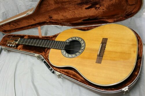 Rare Vintage 1977 USA Ovation 1116-4 Classical Guitar W/ OHSC