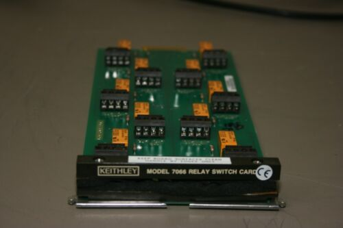 Keithley 7066 Relay Switch Card, with 30 day Warranty