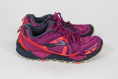 058802ed0c11f Brooks Cascadia 9 Fuschia Running Shoes Womens Size 9 Athletic Trail  Sneakers