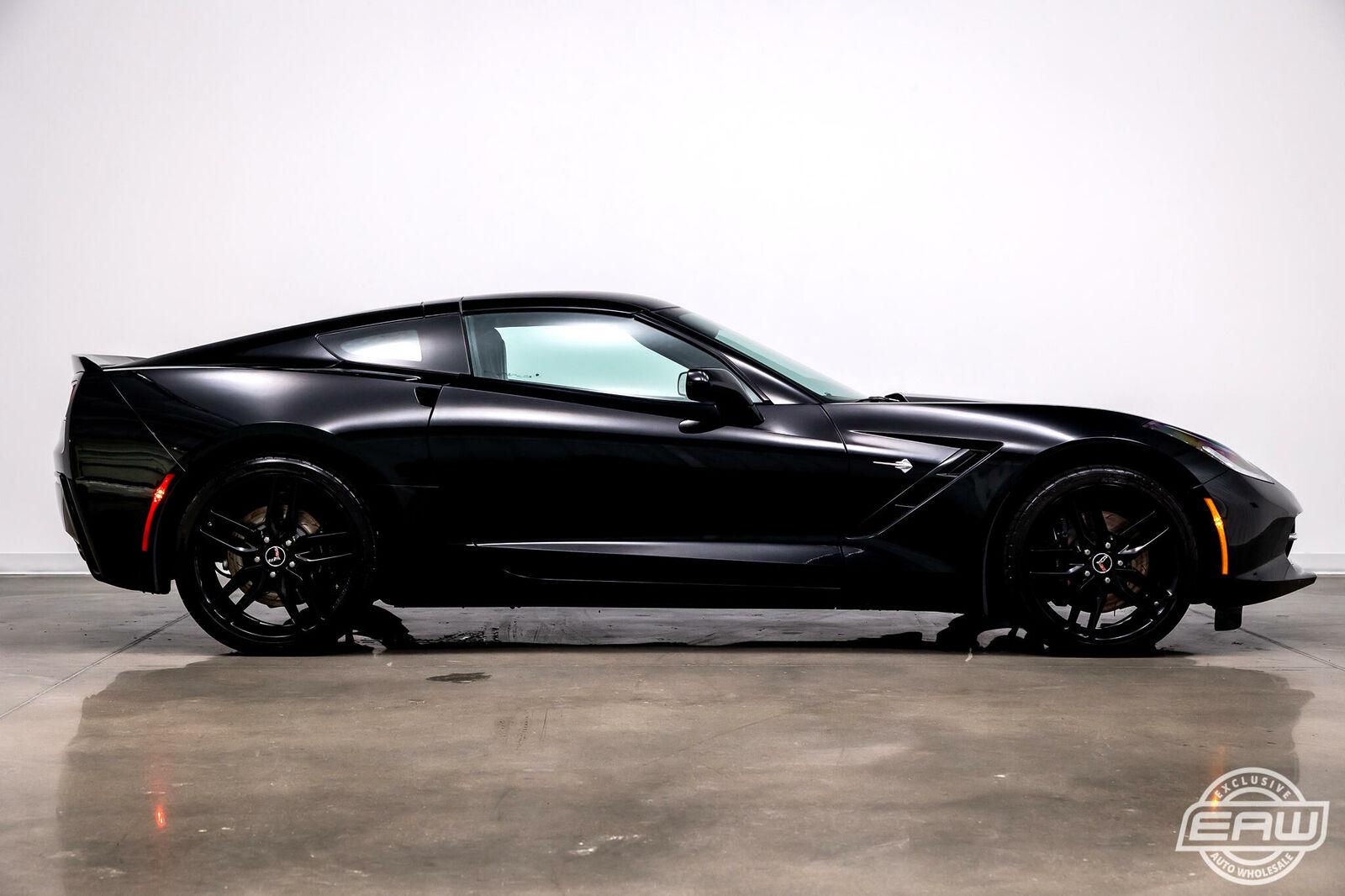 2014 Black Chevrolet Corvette Coupe 1LT | C7 Corvette Photo 9