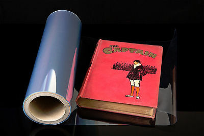 EASYFOLD BOOK FILM book cover 100 mic 330mm x10m hardbacks clear plastic