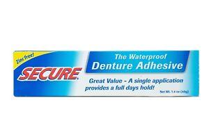 SECURE Denture Bonding Cream Adhesive 40g