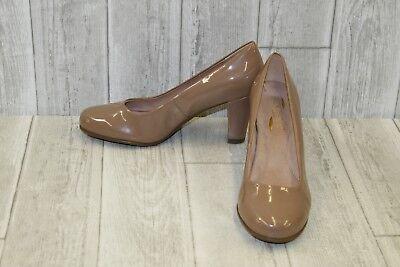 Aerosoles Major Role Faux Patent Leather Pumps, Women's Size 8.5W, Light Tan NEW Tan Patent Leather Pumps