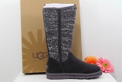 NIB$175 AUTH UGGAustraliaCamaya Charcoal GrayWomen Boots Shoes US 8 Sale ()