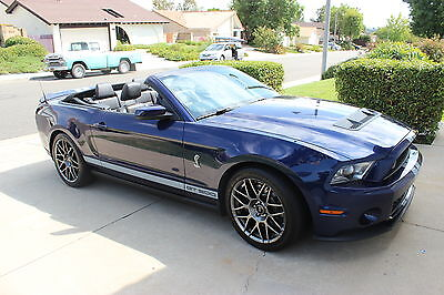 2011 shelby gt500 convertible w svt performance package used ford mustang for sale in mission. Black Bedroom Furniture Sets. Home Design Ideas