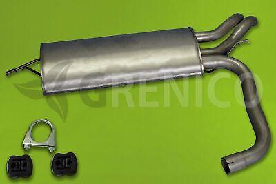 Endschalldämpfer MERCEDES E-KLASSE S210 E220T 2.2 CDI 98-03 Kombi + Montagesatz