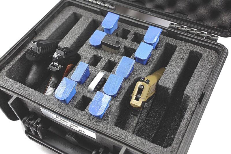 New 4 pistol handgun gun precut foam fits your Harbor Freight Apache 3800 case