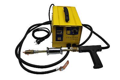 Kfz Ausbeuwerkzeug Set Ausbeulspotter Satz Ausbeulen Werkzeug Spotter 230 V GYS