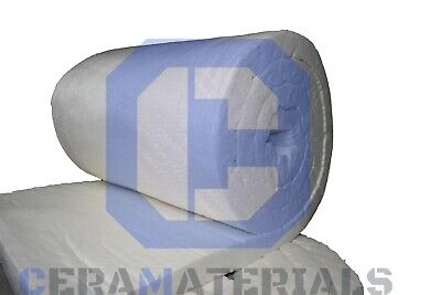 Ceramic Fiber Blanket 2300f 6 High Temp Thermal Insulation Kaowool 1x24x25