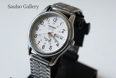 VINTAGE SEIKO Railroad Approved mens watch from prominent estate collection