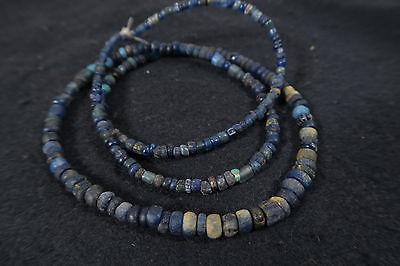 Antike kleine Glasperlen C African Antique Trade wind beads Afrozip