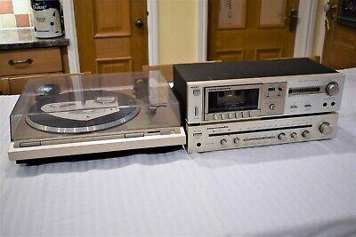Vintage Marantz HiFi Units + HD250 Loudspeakers - Top Quality Retro