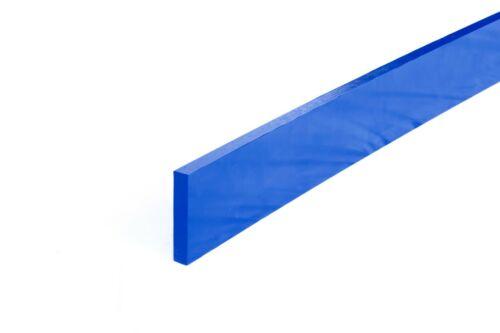 "Urethane Snow Plow Blade / Edge 3/4"" X 4"" X 48"" -  Very Long Life Span - Blue"