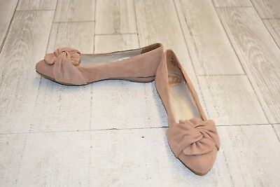 **Fergalicious Addison Fabric Ballet Flats, Women's Size 6M, Cotton Candy NEW